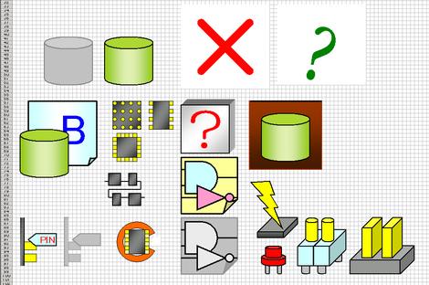 Excelで描いたいろんな図形