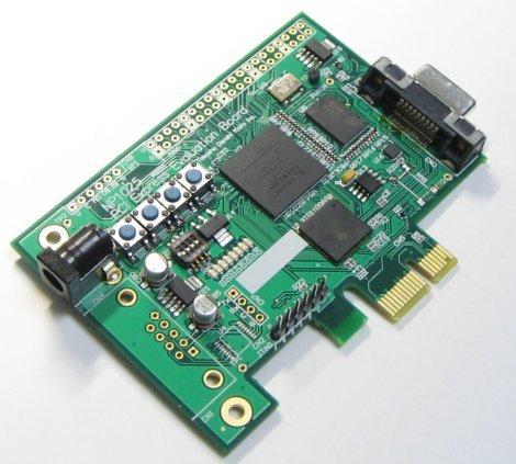 Spartan3E & XIO1100 PCI Express evaluation board