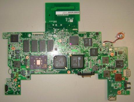 PC-MM1-H1Wのマザーボード