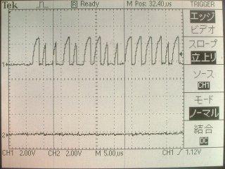 10kΩ時の波形