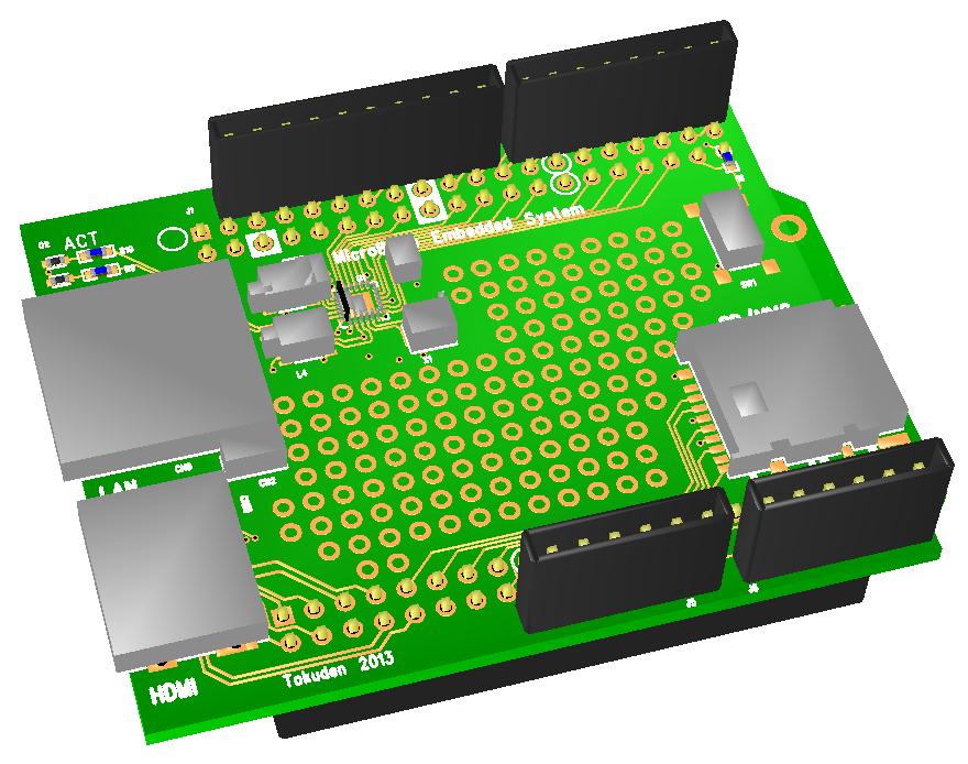 MicroBlazeシステム拡張ボード: なひたふJTAG日記