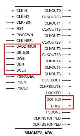 XILINX 7 シリーズにおけるMMCM周波数の動的変更: なひたふJTAG日記