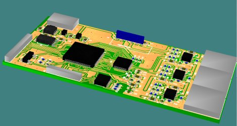 設計した300MHz DACボード